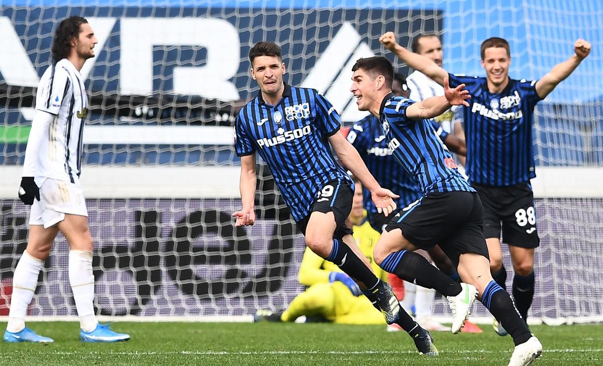 Atalanta chiếm vị trí thứ 3 của Juventus. (Ảnh: Getty)
