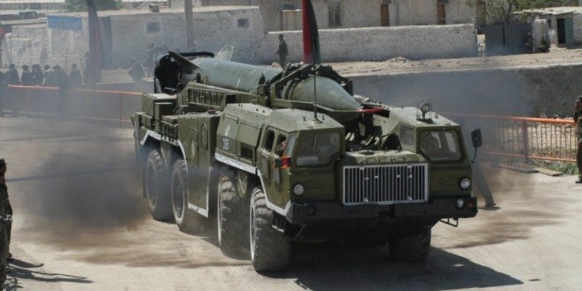 Tên lửa Shahab-1. Ảnh: Wikipedia.