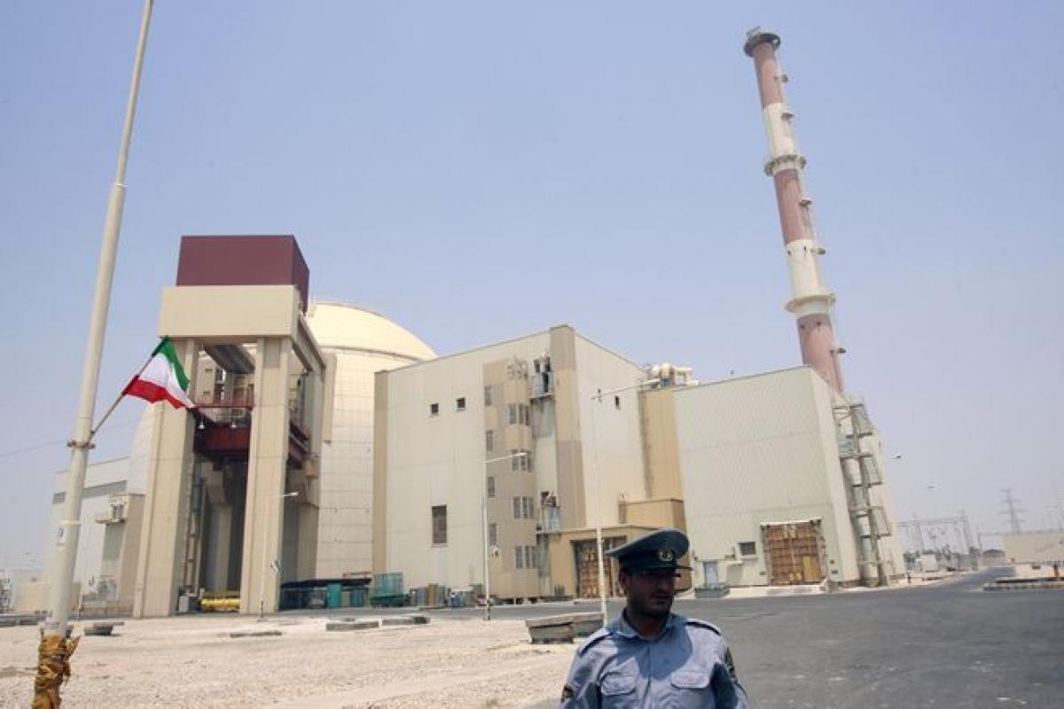 Nhà máy hạt nhân Bushehr ở Iran. Ảnh: Reuters.