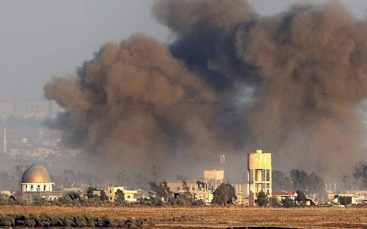 Israel tấn công các vị trí dọc biên giới Syria (ảnh minh họa, của TimesofIsrael).