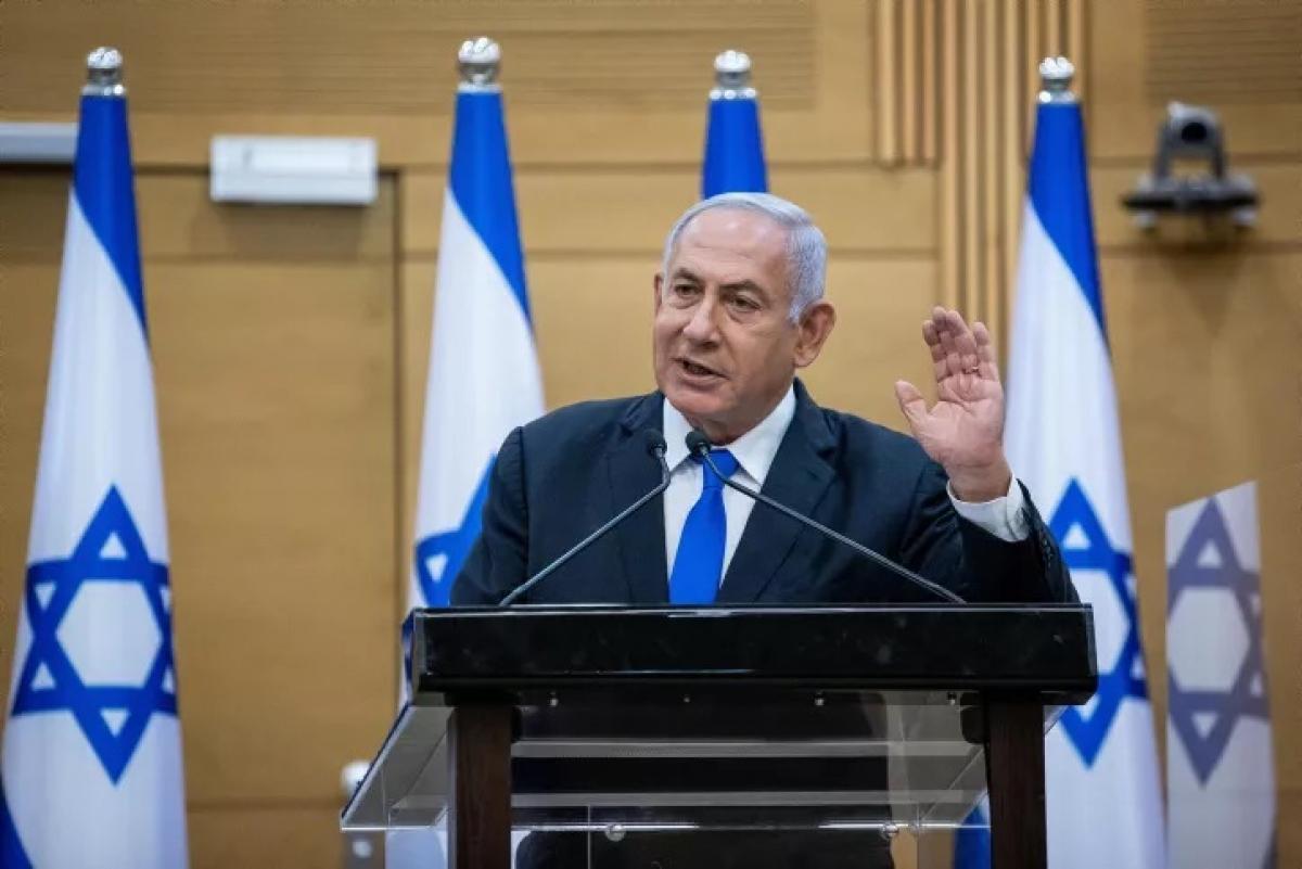Israel đề xuất thành lập linh minh chính phủ mới.Ảnh: I24news.