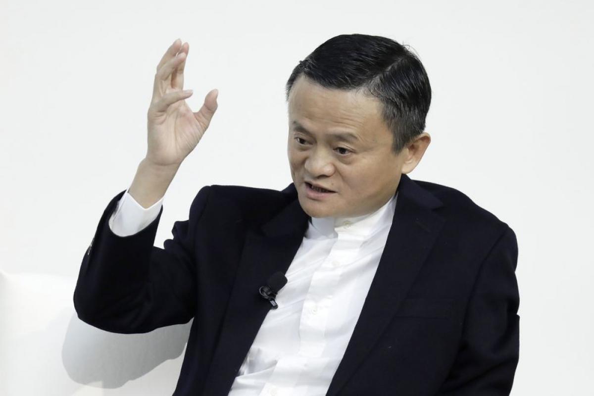 Tỷ phú Jack Ma - nhà đồng sáng lập Alibaba