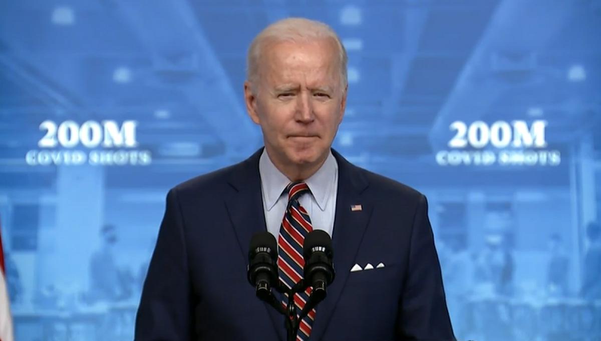 Ông Joe Biden nói về tiến độ triển khai chiến dịch tiêm chủng và cuộc chiến chống dịch bệnh Covid-19