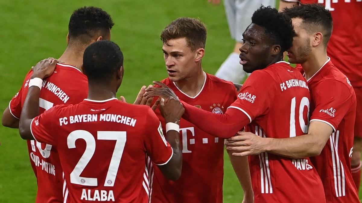 Bayern Munich sẽ vô địch Bundesliga ngay tuần này nếu đánh bại Mainz 05. (Ảnh: Getty).