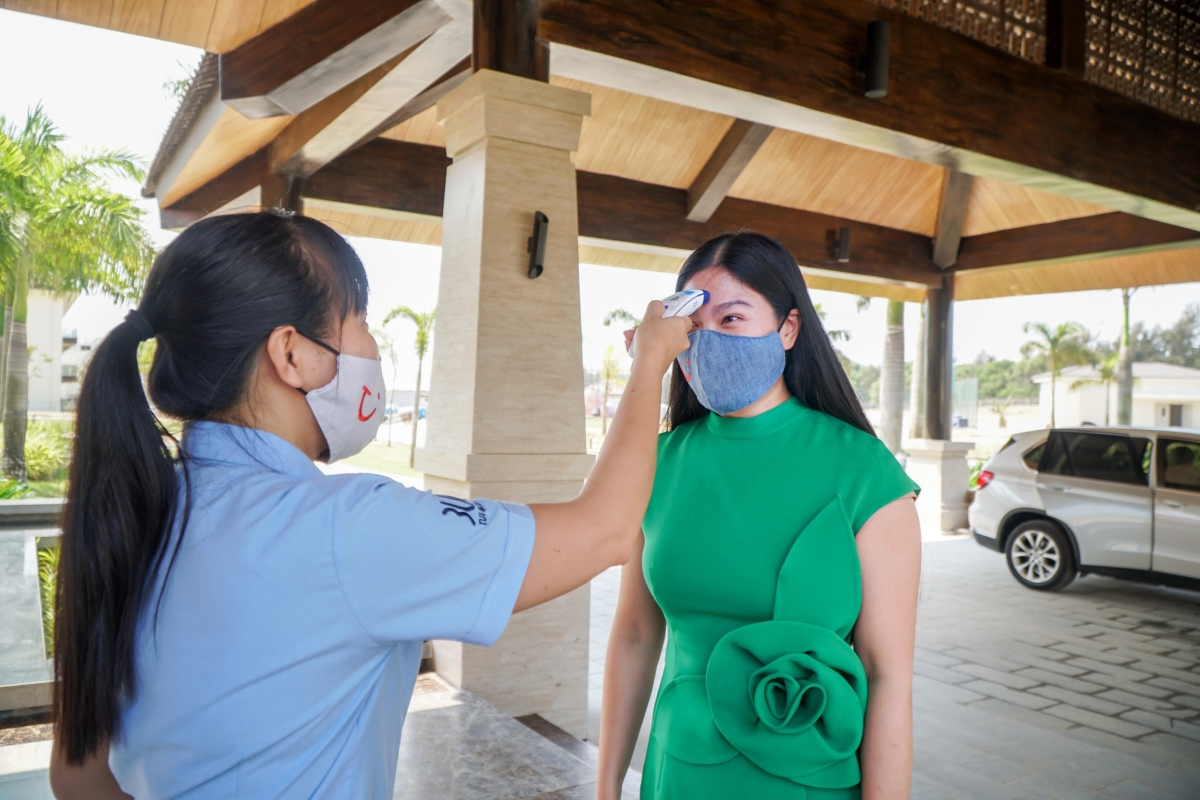 Quy trình phòng chống dịch bệnh tại khách sạn TUI BLUE Nam Hội An.