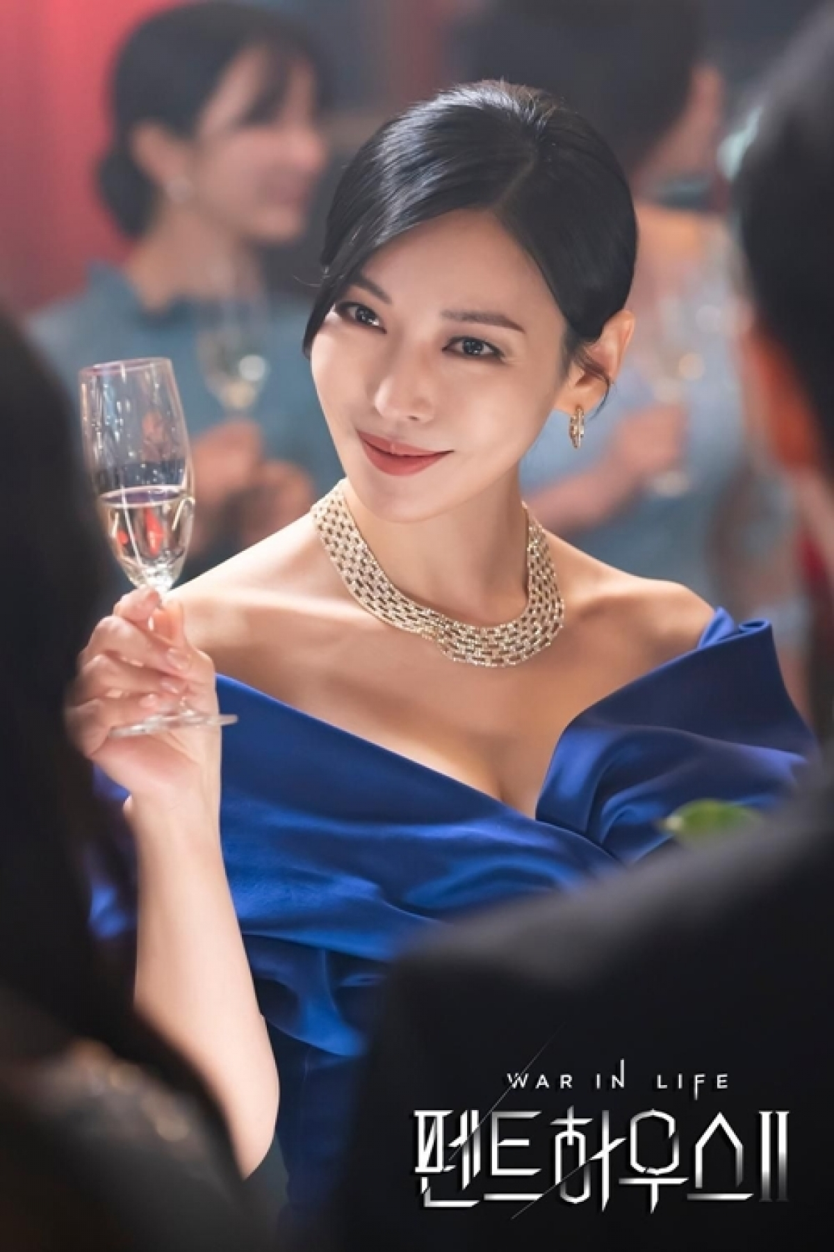 """Nữ diễn viên Kim So Yeon gây sốt với vai diễn trong """"Penthouse""""."""