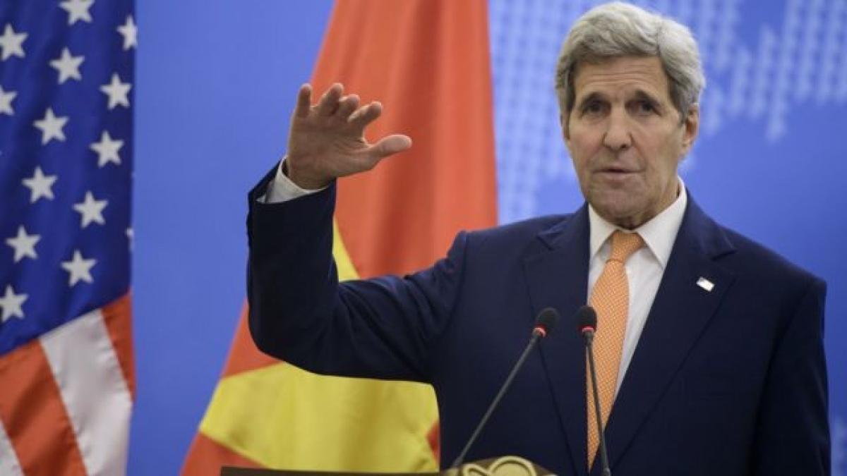Đặc phái viên khí hậu Mỹ John Kerry. Ảnh: BBC.