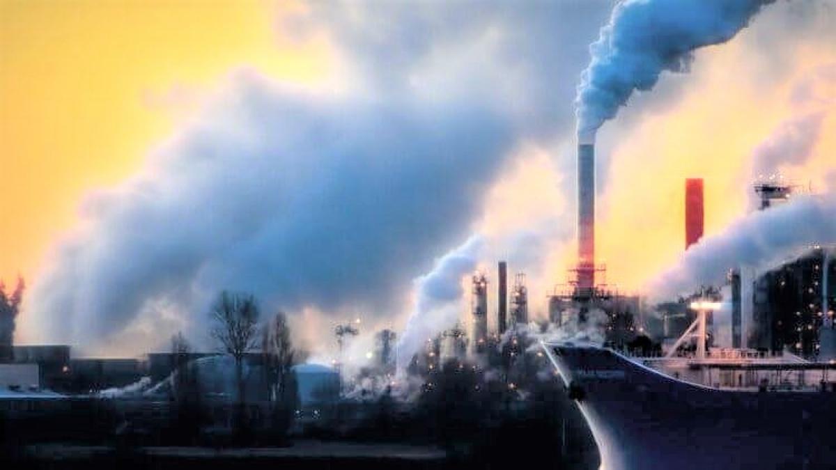 Hơn 71% lượng khí thải từ năm 1988 được cho được tạo ra bởi 100 siêu công ty của thế giới; Nguồn: topnewsrussia.ru
