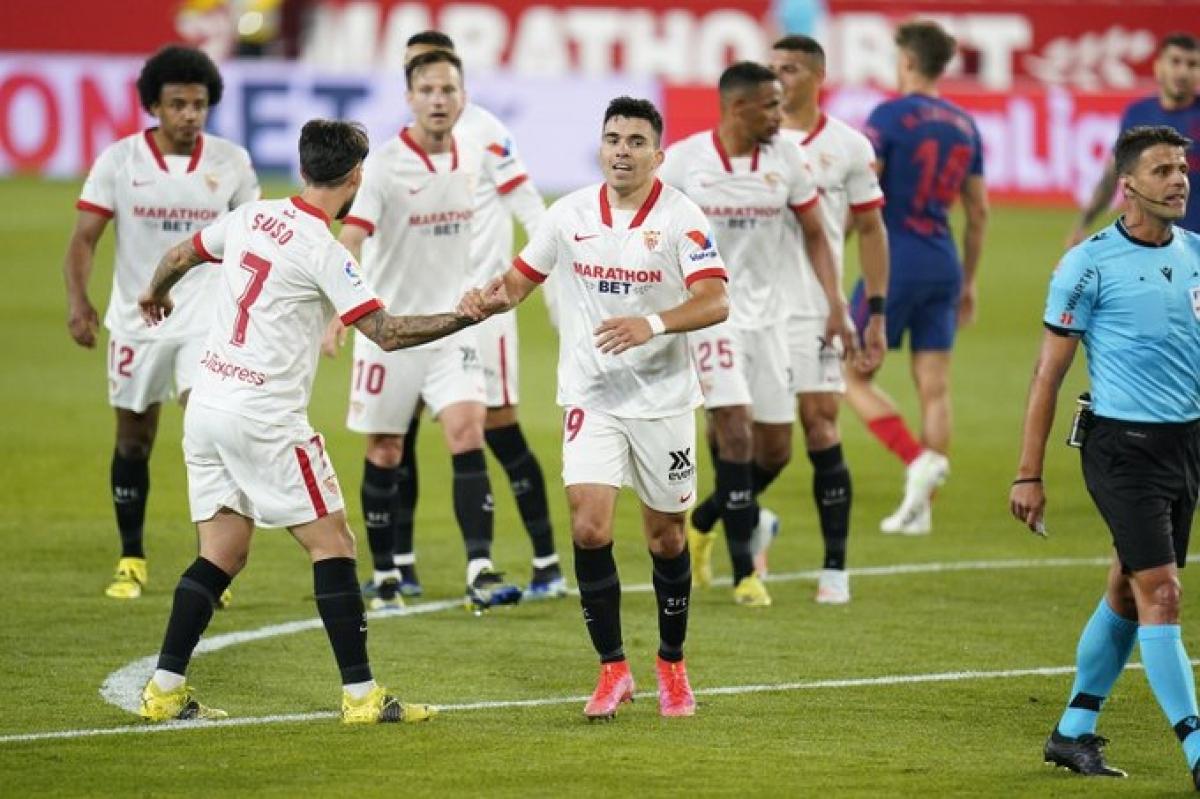 Acuna không chỉ là người hùng của Sevilla mà còn là người hùng của Barca, Real Madrid. (Ảnh: Getty)