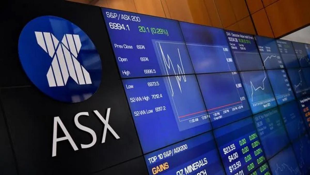 Lần đầu tiên kể từ khi bắt đầu đại dịch chỉ số chứng khoán ASX 200 của Australia đóng cửa ở mức trên 7000 điểm, báo hiệu niềm tin mạnh mẽ của nhà đầu tư đối với nền kinh tế. (Ảnh minh họa: Joel Carrett).