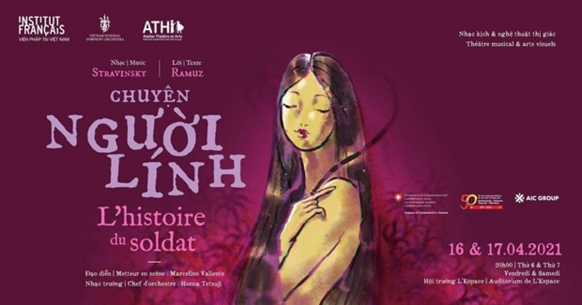 """L'Histoire du soldat"""" (the Soldier's Tale) will be staged in Hanoi next weekend."""