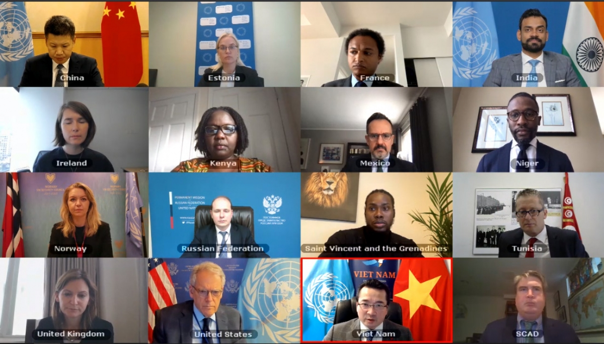 Đại sứ Phạm Hải Anh chủ trì Hội đồng Bảo an thông qua 2 nghị quyết về Libya