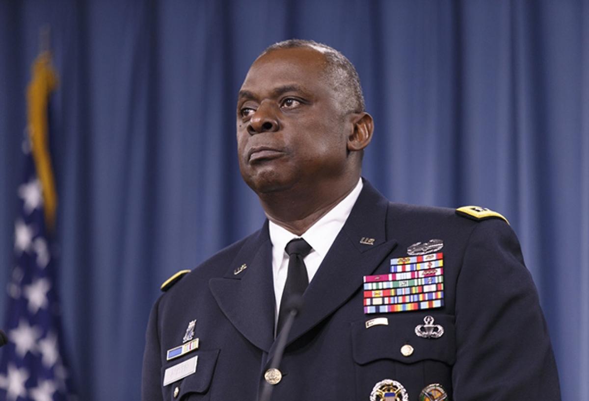 Bộ trưởng Quốc phòng Mỹ -Lloyd Austin. (Ảnh: AP)