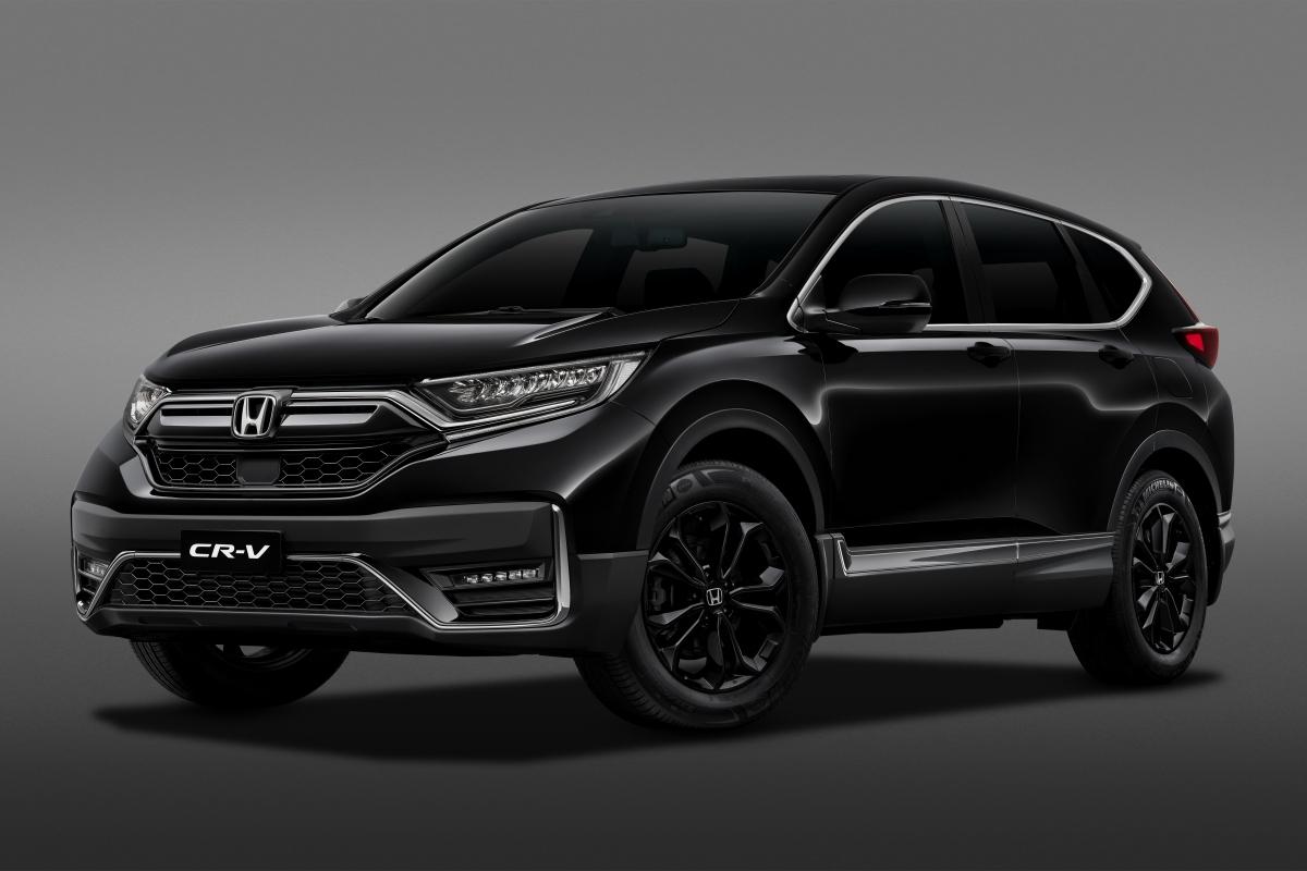 Honda CR-V LSE sẽ chỉ có lựa chọn duy nhất là màu đen.