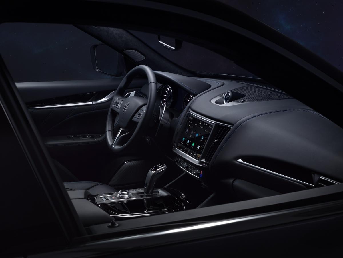 Không gian nội thất sang trọng của Levante Hybrid.