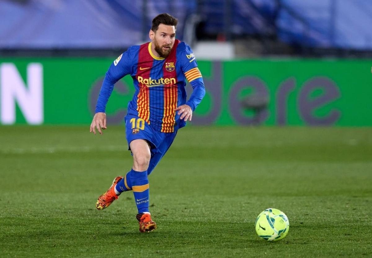 Messi không ghi bàn cho Barca ở trận El Clasico kể từ khi Ronaldo rời Real Madrid (Ảnh: Getty).
