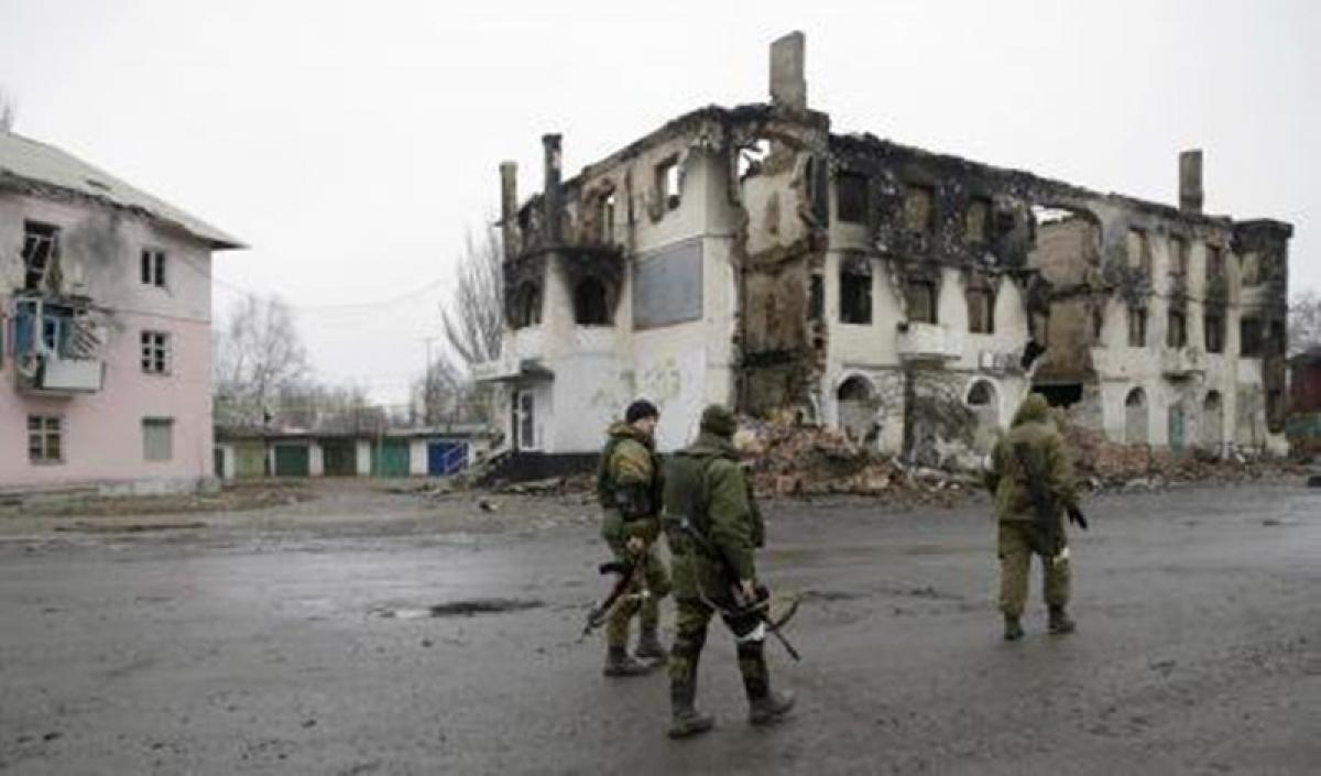 Miền Đông Ukraine. Ảnh: Open Democracy.