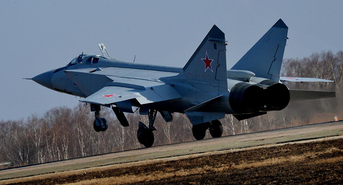 MiG-31 của Nga. Ảnh: Sputnik
