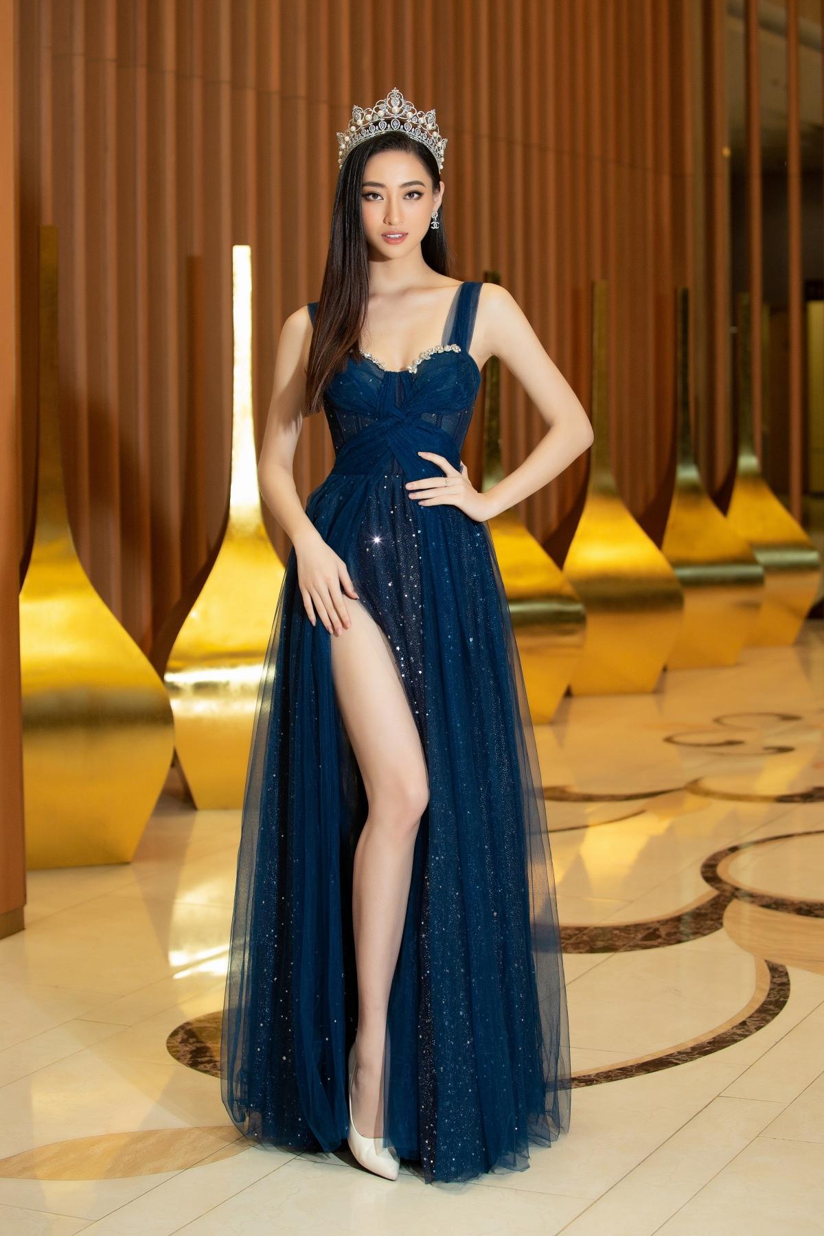 Hoa hậu Lương Thuỳ Lình.