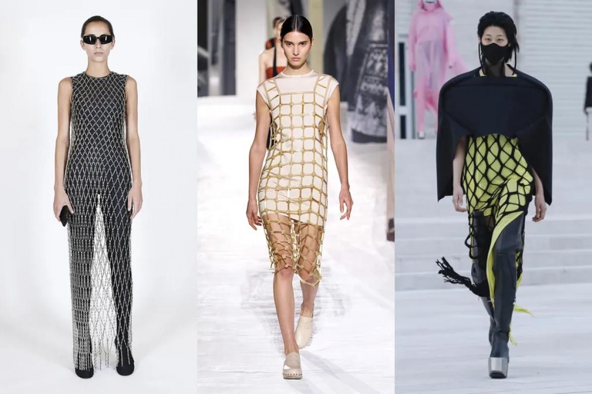 Thiết kế củaBalenciaga,Hermès,Rick Owens.