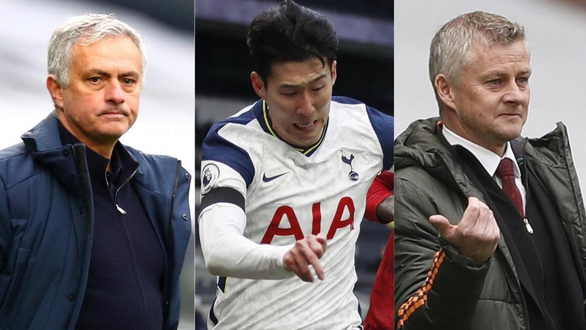 Mourinho và Solskjaer khẩu chiến vì Son Heung Min