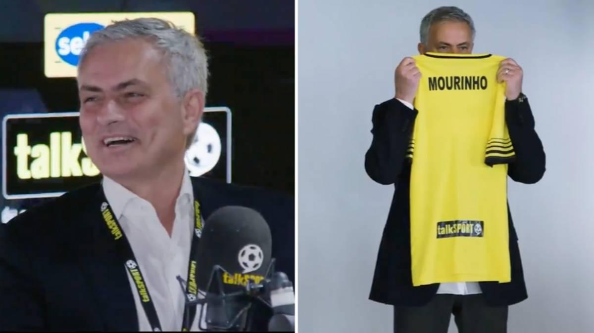 Jose Mourinho chính thức có công việc mới sau khi bị Tottenham sa thải. (Ảnh: Sportbible)