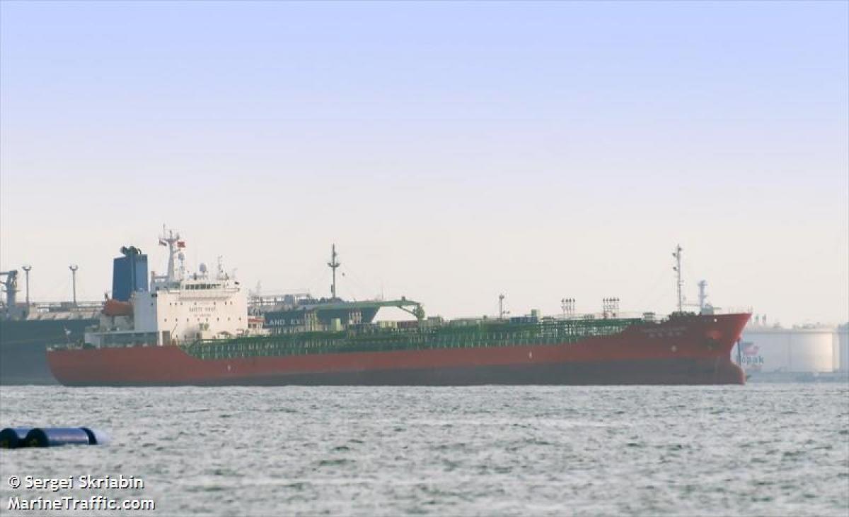 Iran thả tàu hàng và thuyền trưởng của Hàn Quốc. Ảnh: Marine Traffic