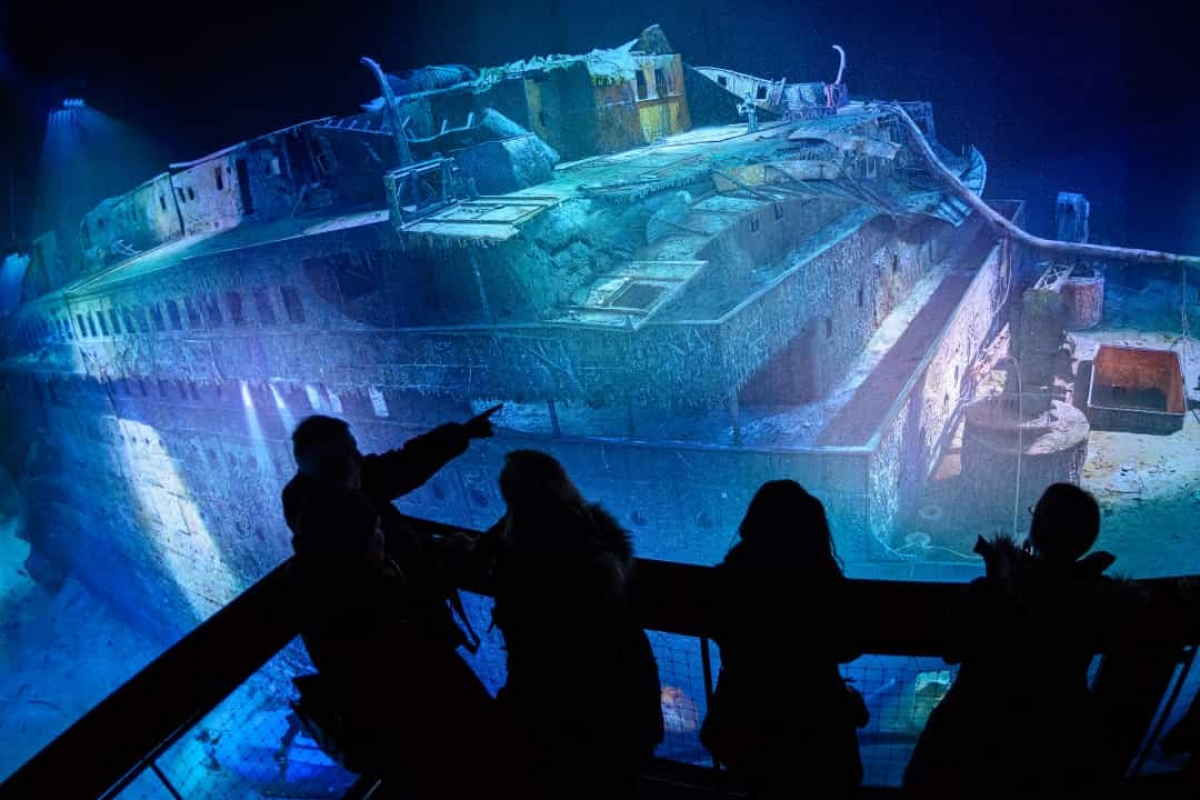 Phải mất 73 năm mới tìm thấy xác tàu Titanic.