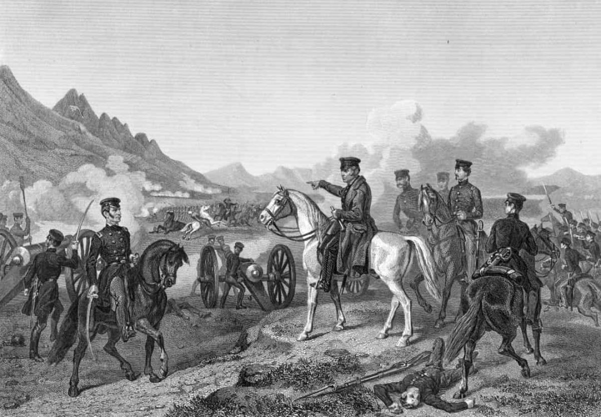 Chiến tranh Mỹ-Mexico (ngày 25/4/1846).Xung đột vũ trang giữa Mỹ và Mexico diễn ra khi Mỹ sáp nhập Texas vào năm 1845, trước đây thuộc sở hữu của Mexico. Chiến tranh nổ ra khi Tổng thống James K. Polk ra lệnh cho Tướng Zachary Taylor và lực lượng của ông tới Rio Grande, vùng lãnh thổ mà Mexico tranh chấp. Vào ngày 25/4/1846, một đội kỵ binh Mexico gồm 2.000 người đã tấn công 70 lính Mỹ, khiến 11 người thiệt mạng. 
