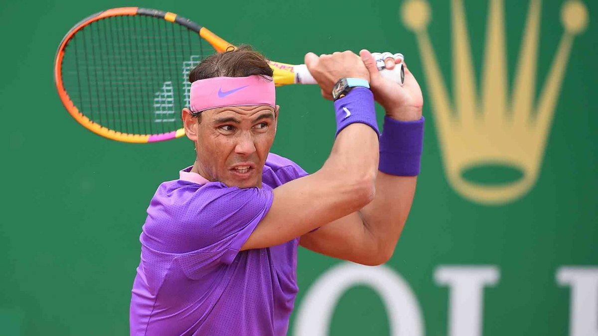 Nadal thắng dễ ở vòng 3 Monte Carlo Masters. (Ảnh: Getty).