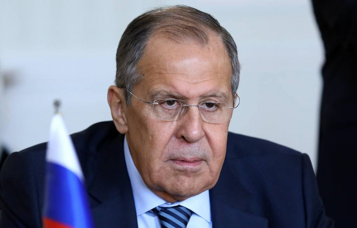Bộ trưởng Ngoại giao Nga Sergei Lavrov (Nguồn: Tass)