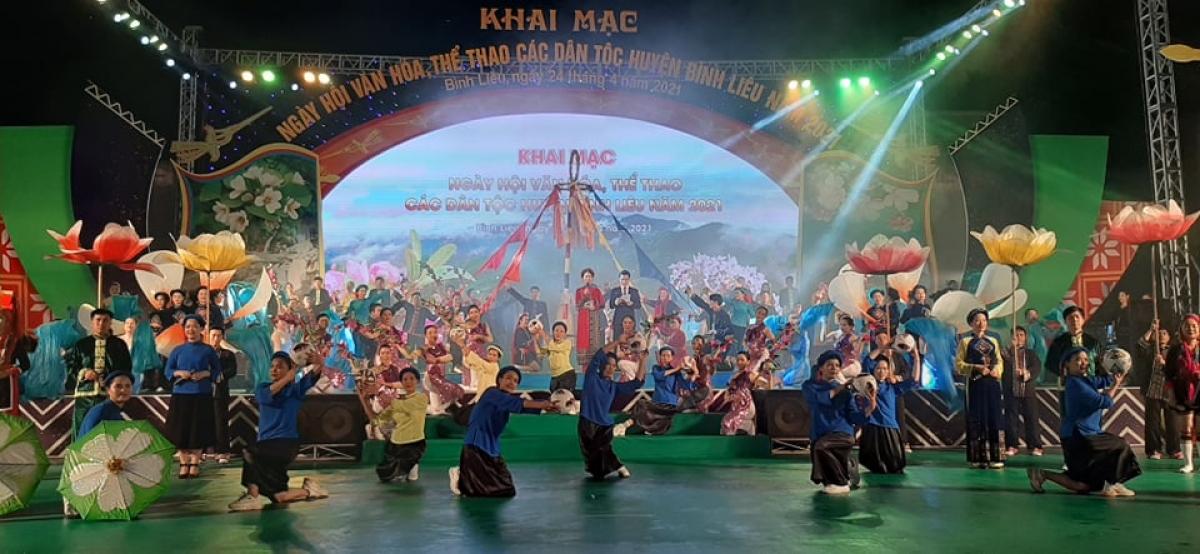 Ngày hội văn hóa, thể thao các dân tộc huyện Bình Liêu.