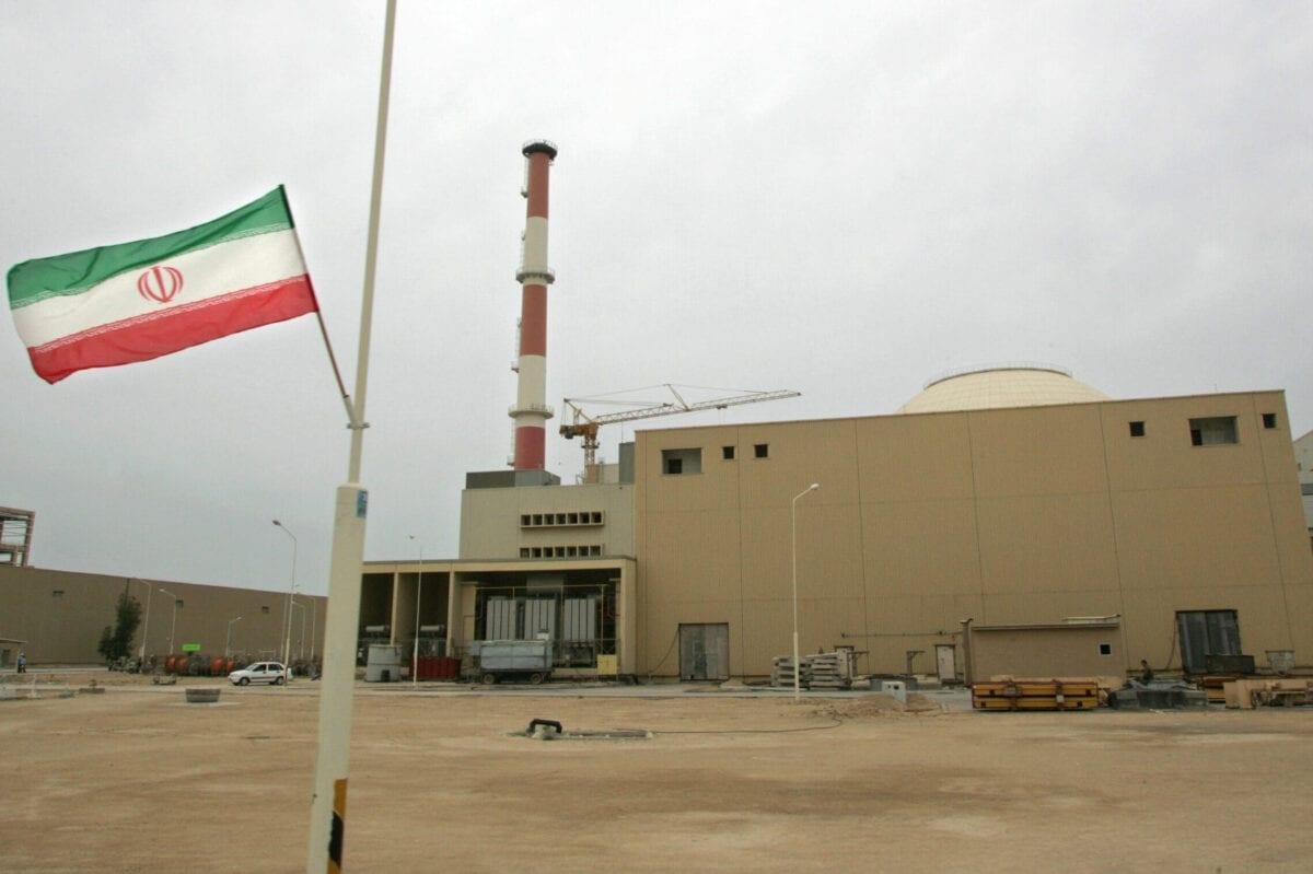 Khu vực lò phản ứng của nhà máy điện hạt nhân Bushehr ở miền nam Iran, ngày 3/4/2007. Ảnh: Getty