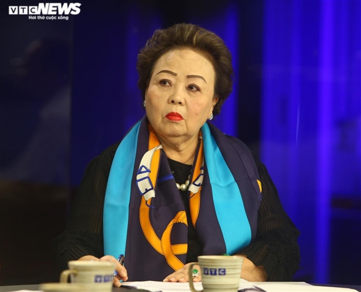 Bà Trương Thị Nhi, Chủ tịch Hiệp hội Bán hàng Đa cấp Việt Nam.