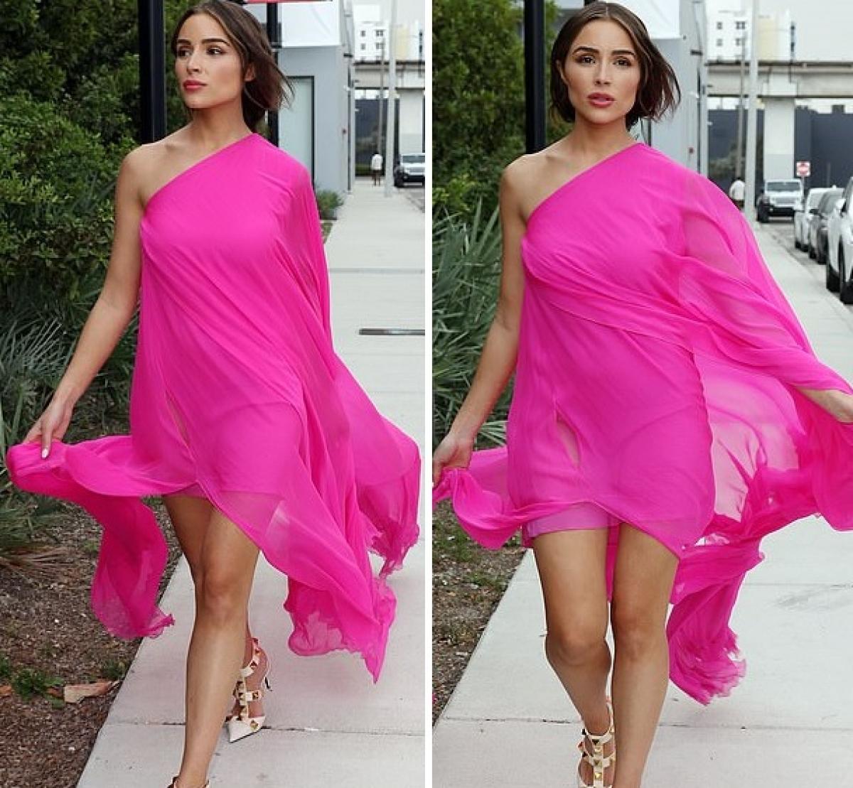 Sau khi giành danh hiệu Hoa hậu Hoàn vũ, Olivia Culpo trở nên rất nổi tiếng trên mạng xã hội./.