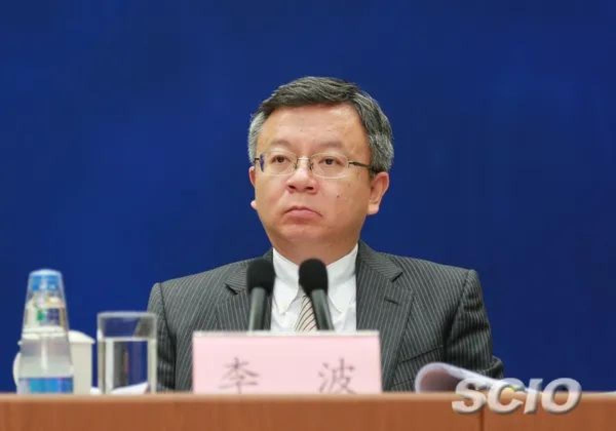 Ông Lý Ba, Phó Thống đốc Ngân hàng Nhân dân Trung Quốc. (Ảnh: SCIO)