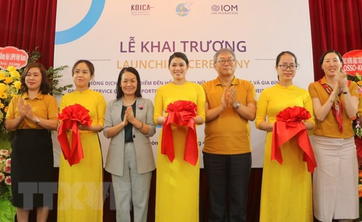 At the opening ceremony of the OSSO Hai Phong