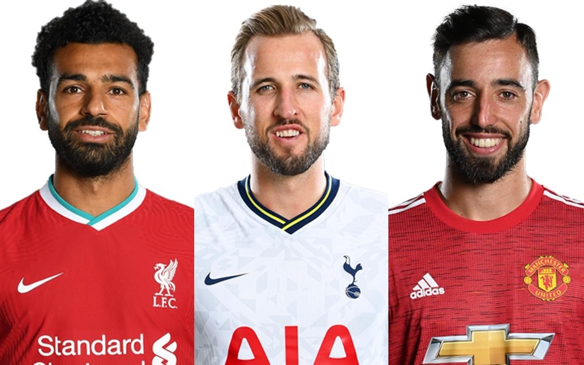 Tốp 10 cầu thủ đua tranh quyết liệt cho danh hiệu vua phá lưới Ngoại hạng Anh gồm những gương mặt sau: