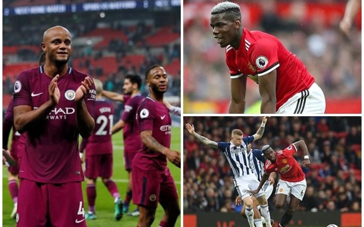 Ngày này 3 năm trước, MU dâng chức vô địch Ngoại hạng Anh cho Man City.
