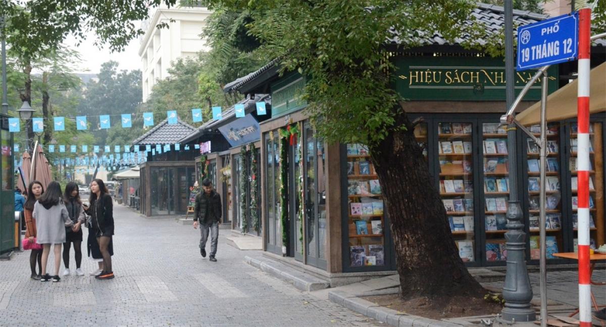 Nơi hội tụ của nhiều nhà xuất bản nổi tiếng.