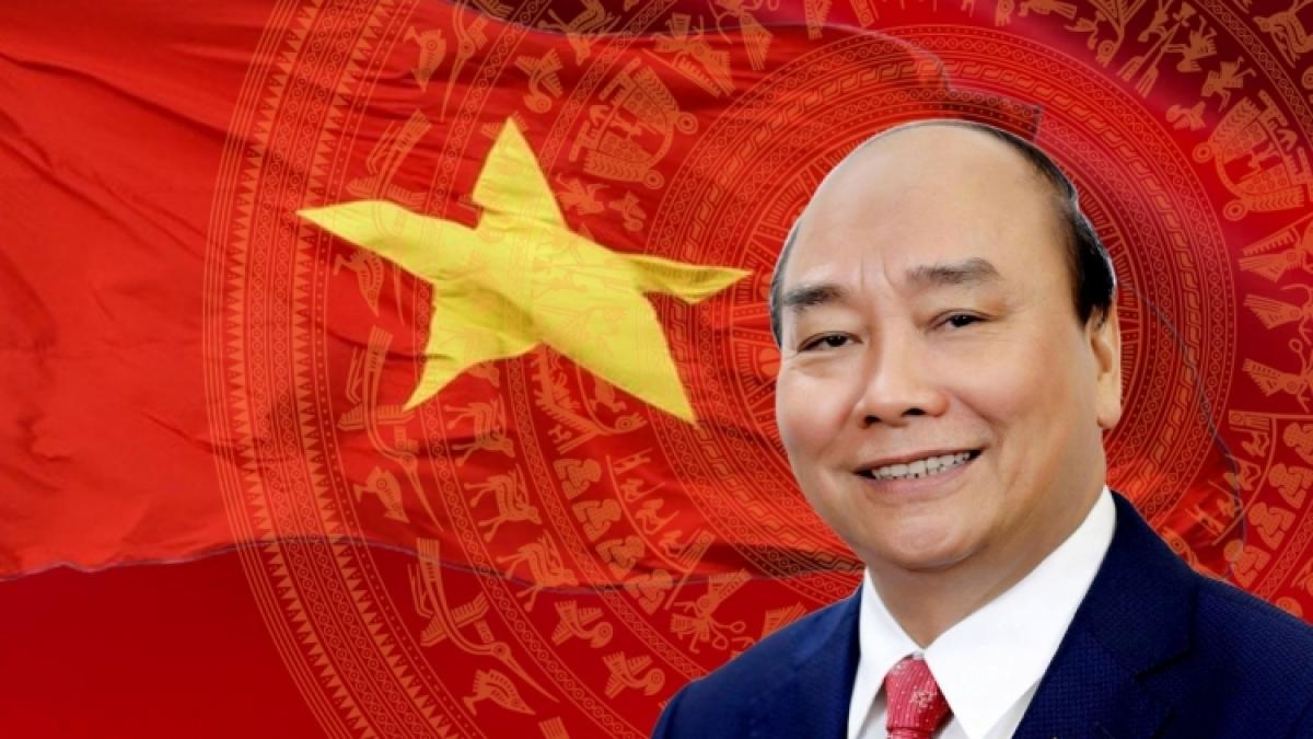 Chủ tịch nước Cộng hòa xã hội chủ nghĩa Việt Nam Nguyễn Xuân Phúc.