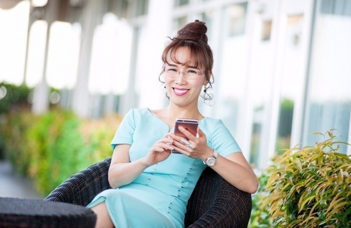 Bà Nguyễn Thị Phương Thảo là nữ doanh nhân Việt duy nhất có tên trong bảng xếp hạng tỷ phú USD của Forbes.