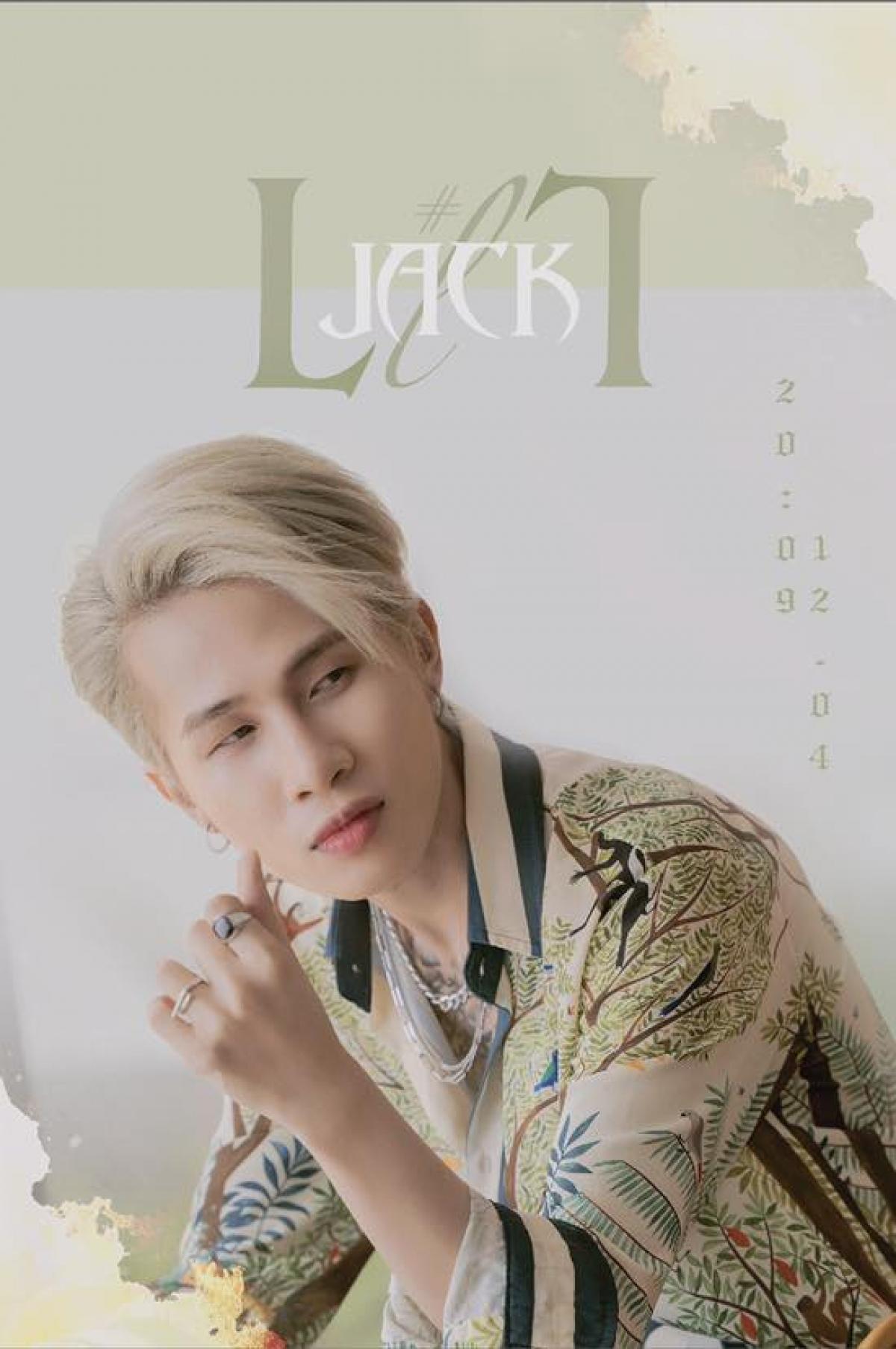 Poster ca khúc mới được nam ca sĩ đăng tải trên trang fanpage.