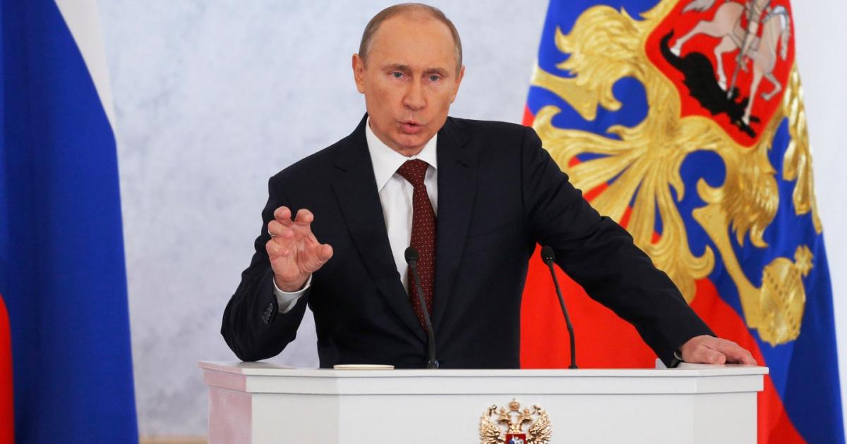 Tổng thống Nga Putin. Ảnh: The Nation