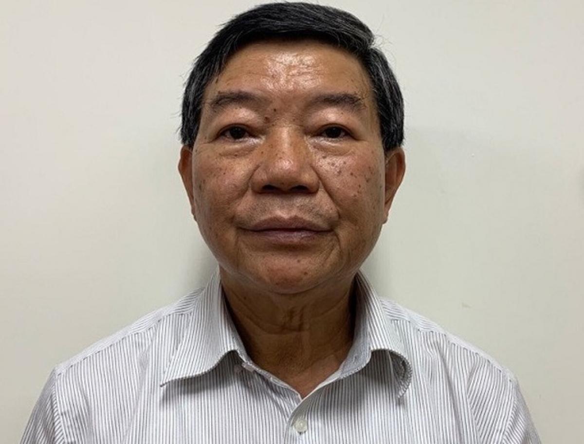Ông Nguyễn Quốc Anh khi bị bắt hồi tháng 9/2020. Ảnh: Bộ Công an