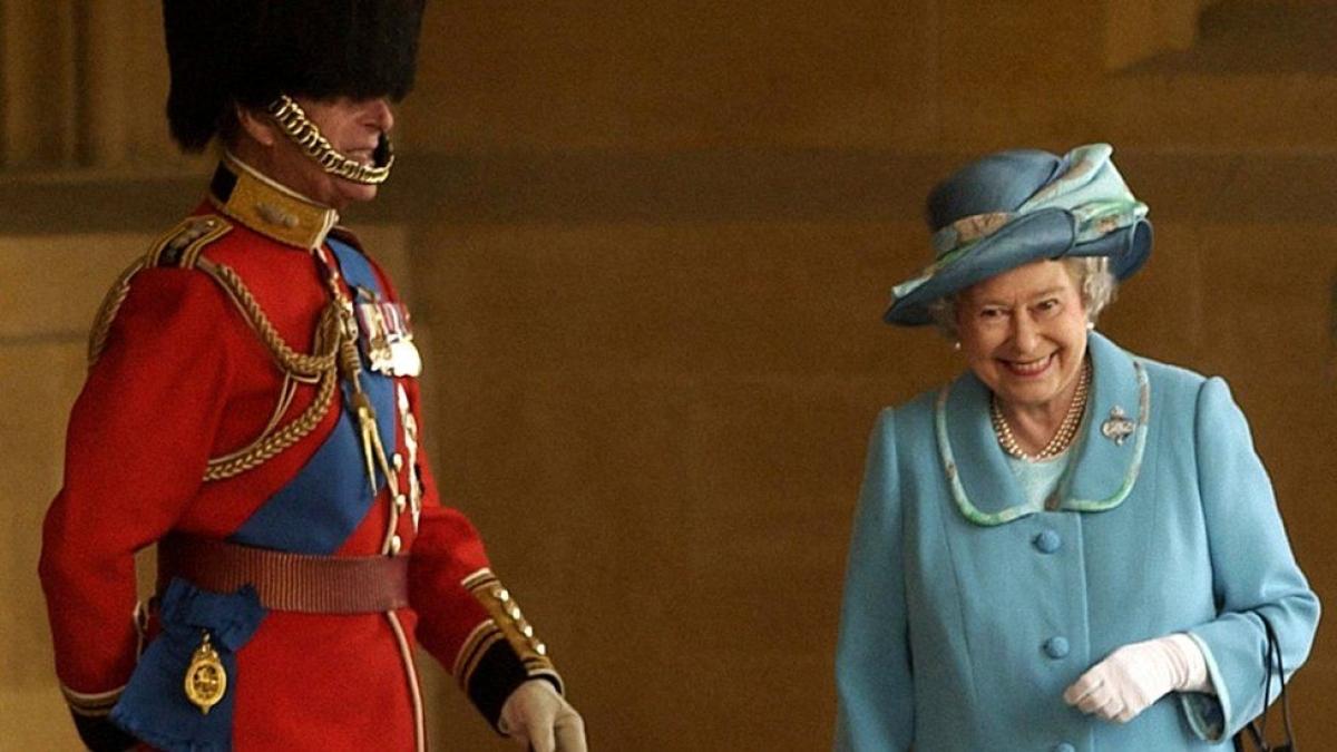 Hoàng thân Philip và Nữ hoàng Elizabeth II. Ảnh: BBC