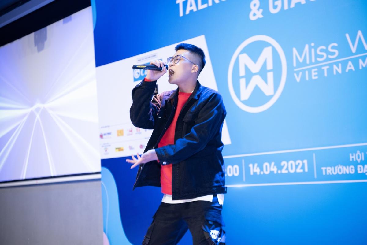 """Quán quân """"King of Rap"""" ICD."""