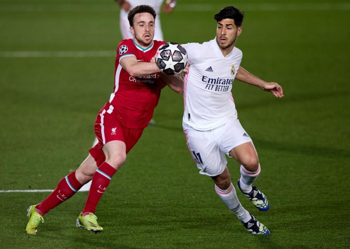 Real Madrid thắng thuyết phục Liverpool (Ảnh: Getty).