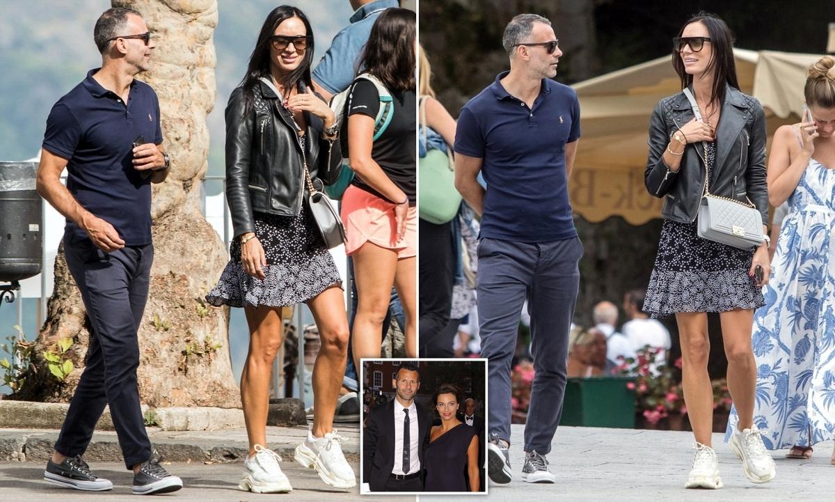 Ryan Giggs và Kate Greville thời còn mặn nồng. (Ảnh: Daily Mail)