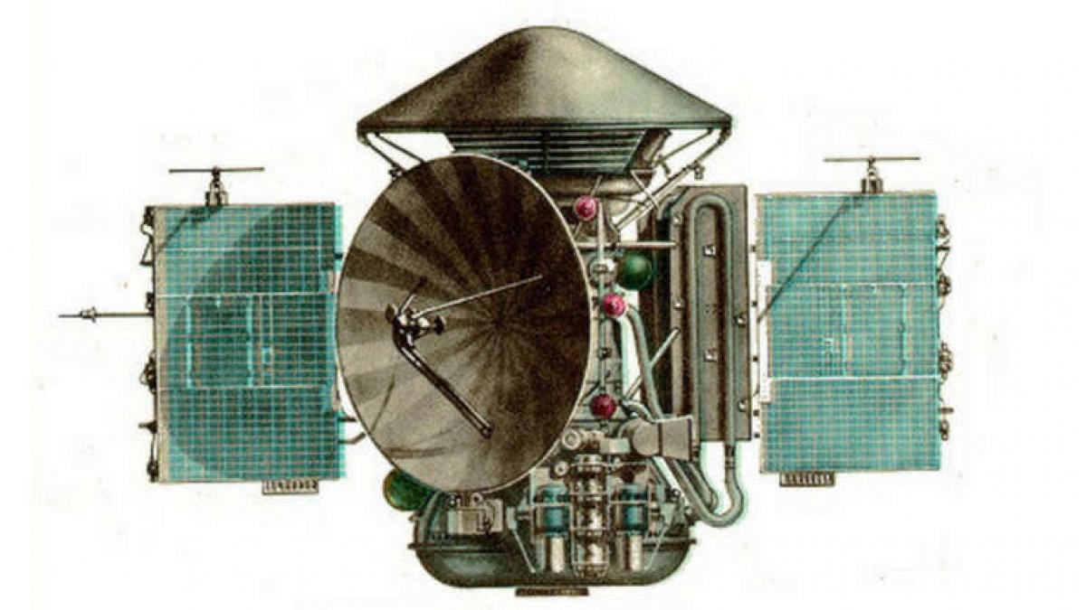 Ngày 28/5/1972, Mars 3 của Liên Xô đã trở thành tàu vũ trụ đầu tiên hạ cánh trên sao Hỏa.